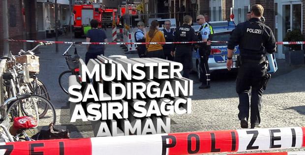 Münster saldırganı aşırı sağcı Alman çıktı