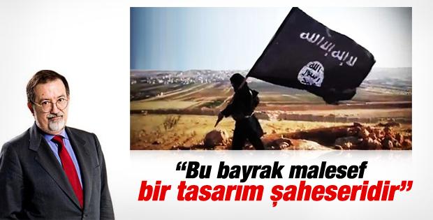 Murat Bardakçı IŞİD'in bayrağını yazdı