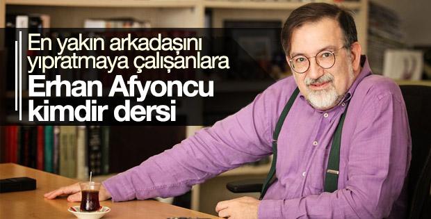 Erhan Afyoncu'yu eleştirenlere Bardakçı'dan sert tepki