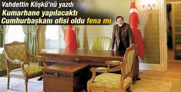 Murat Bardakçı Vahideddin Köşkü'nü anlattı