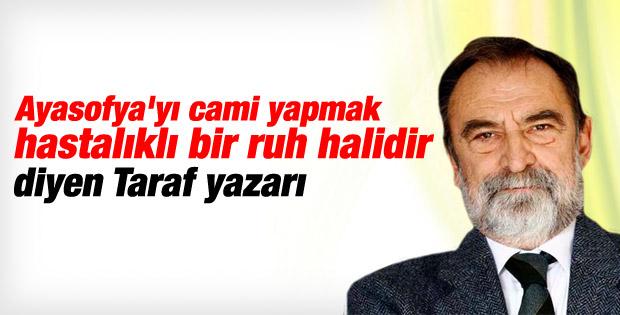 Murat Belge'den tepki çeken Ayasofya açıklaması