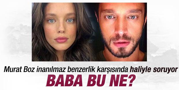 Murat Boz'a benzeyen güzel
