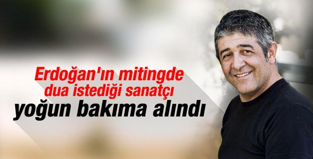 Murat Göğebakan yoğun bakımda