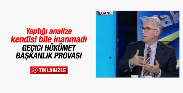 Murat Yetkin'den geçici hükümet için ilginç değerlendirme