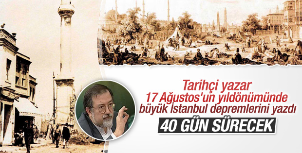 Murat Bardakçı büyük İstanbul depremini yazdı