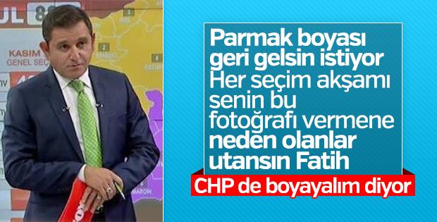 CHP seçimlerde parmak boyası için kanun teklifi verdi