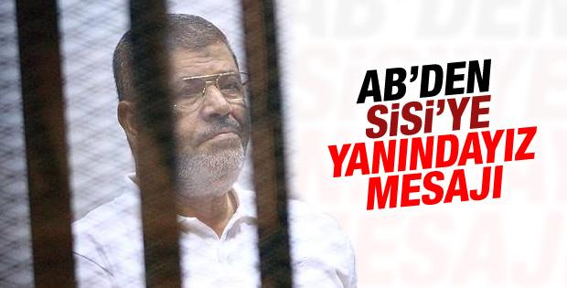 Avrupa Birliği'nden Mursi kararına tepki