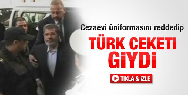 Mursi'nin üstündeki Türk malı ceket