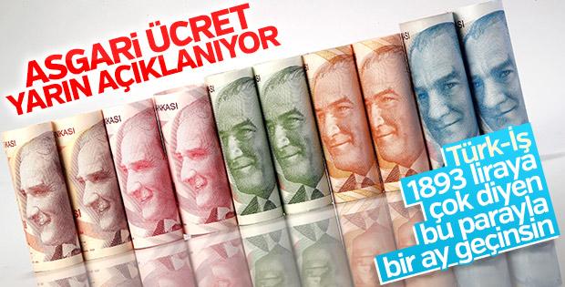 Türk-İş'ten işverenlere asgari ücret mesajı