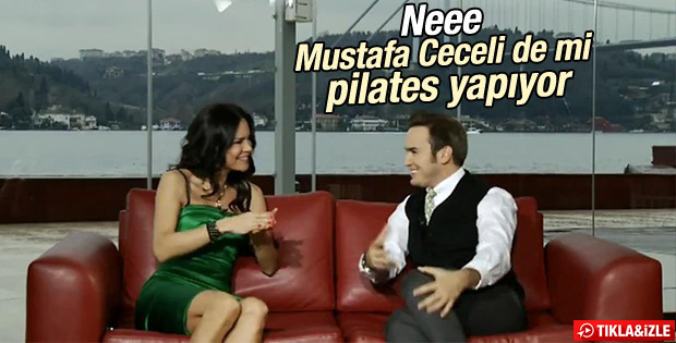 Mustafa Ceceli: Pilates yapıyorum İZLE