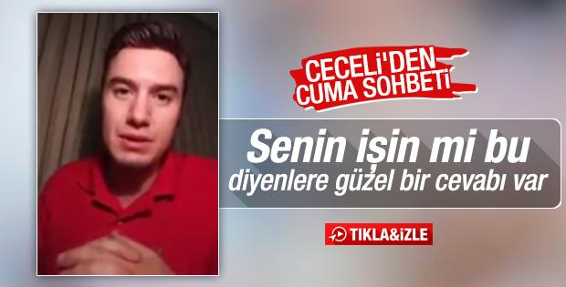 Mustafa Ceceli'den dini sohbet