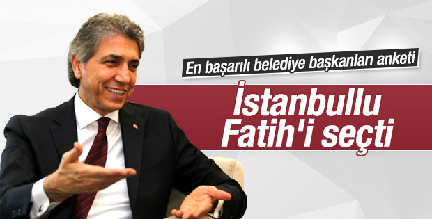 İstanbul anketinde en başarılı belediye Fatih oldu