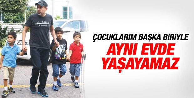Mustafa Erdoğan: Çocuklarım başka biriyle yaşayamaz