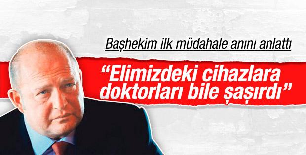 Başhekim, Mustafa Koç'a ilk müdahale anını anlattı
