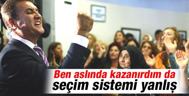 Mustafa Sarıgül: Seçim sistemi demokratik değil