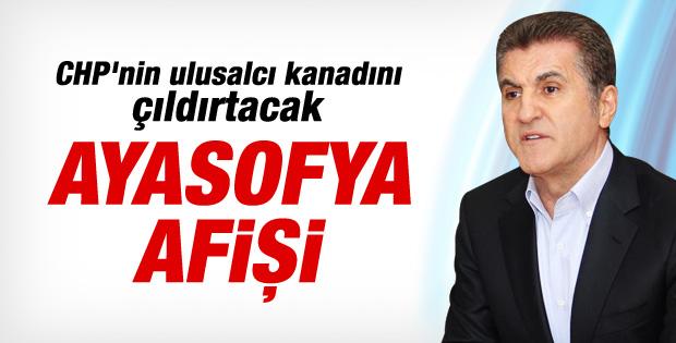 Mustafa Sarıgül'ün tartışılan Ayasofya afişi