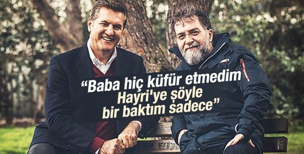 Mustafa Sarıgül küfürlü video hakkında konuştu