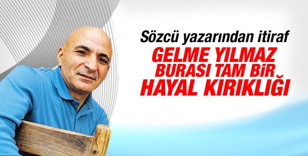Sözcü Mustafa Sönmez'in işine son verdi