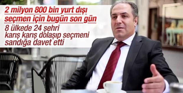 Mustafa Yeneroğlu: Gurbetçi değil diasporayız