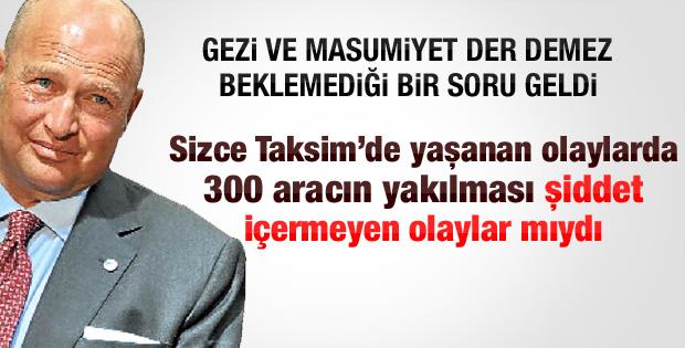 Mustafa Koç'tan Gezi eleştirileri sonrası ilk açıklama
