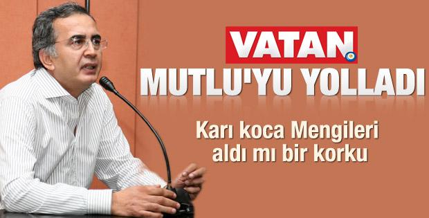 Mustafa Mutlu Vatan'dan kovuldu