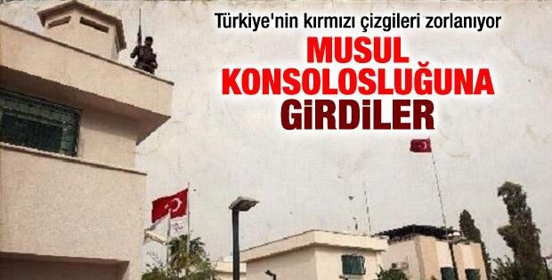 IŞİD Musul'daki Türk Konsolosluğu'nu işgal etti
