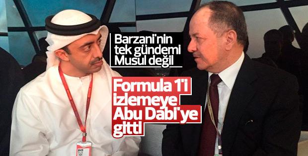 Barzani Formula 1'i izledi