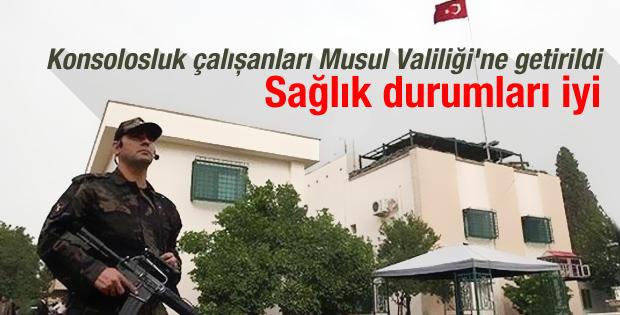 IŞİD: Kaçırılan Türkler Musul Valiliği'nde bekletiliyor