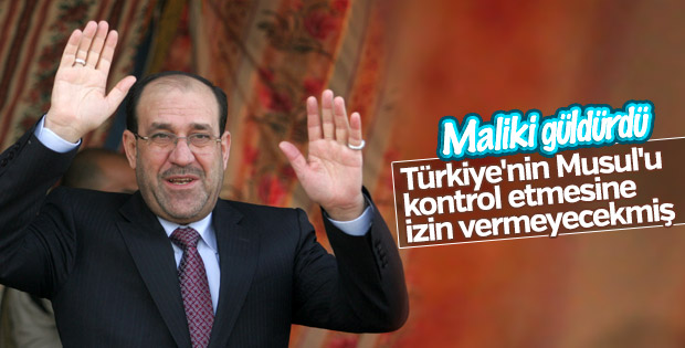 Maliki: Türkiye'nin Musul'u kontrol etmesi bir hayal