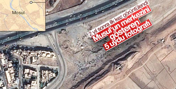 Musul'un yeni uydu fotoğrafları yayınlandı