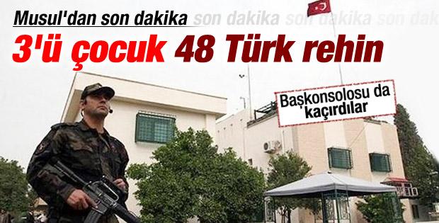 IŞİD: Türk diplomatlar elimizde