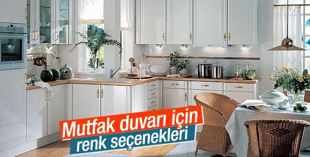 Mutfak duvarı için renk seçenekleri