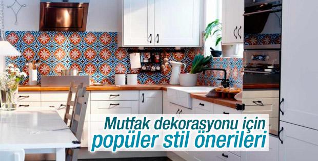 Mutfak dekorasyonu için popüler stil önerileri