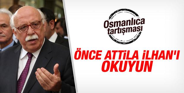 Nabi Avcı'dan Osmanlıca dersi açıklaması İZLE