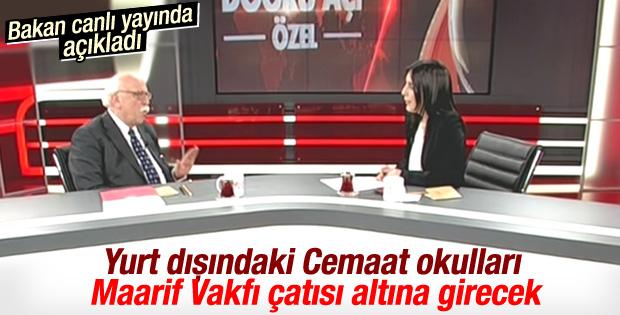 Nabi Avcı açıkladı: Türk okullarına Maarif çözümü