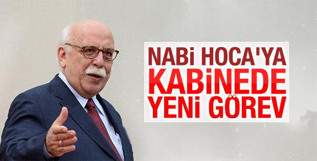 Nabi Avcı Kültür Bakanı oldu