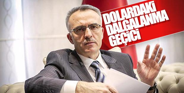 Maliye Bakanı: Döviz ve petroldeki dalgalanma geçici