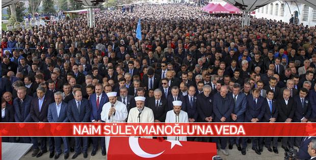 Milli gururumuz Süleymanoğlu, son yolculuğuna uğurlandı