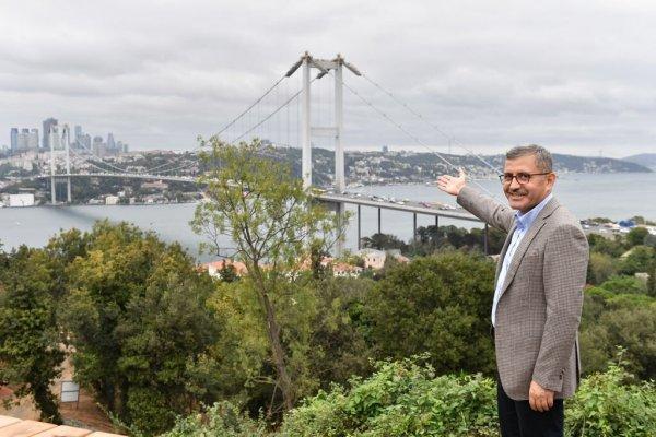 Hilmi Türkmen sözünü tuttu: Nakkaştepe Millet Bahçesi