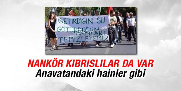 Türkiye'den KKTC'ye içme suyu projesi protesto edildi