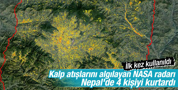 NASA'nın kalp atışını algılayan radarı Nepal'i izliyor