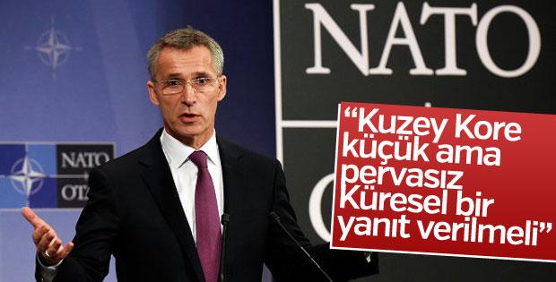 NATO Genel Sekreteri'nden Kuzey Kore uyarısı