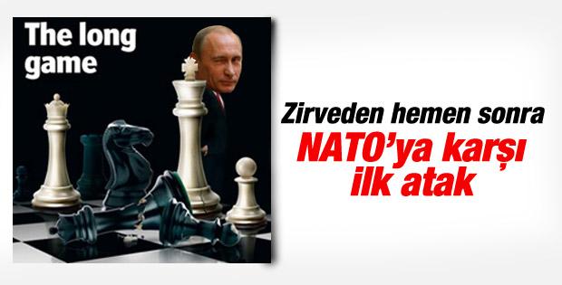 Karadeniz'de NATO gemisine Rus tacizi