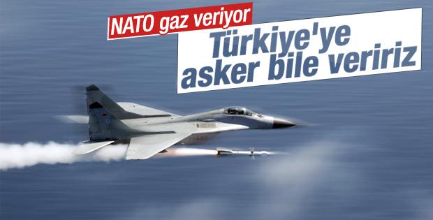 NATO: Türkiye'ye asker göndeririz