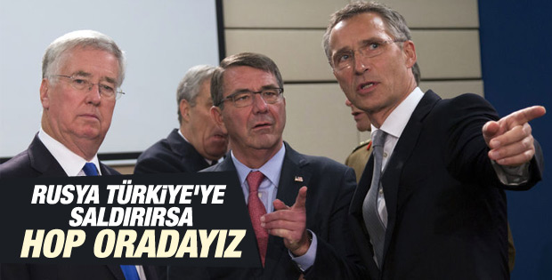 NATO saldırı olursa 48 saatte Türkiye'de olacak