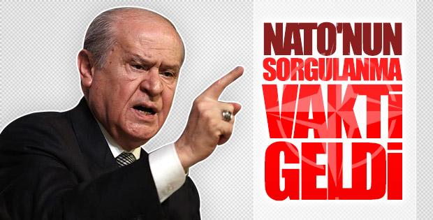 Devlet Bahçeli: NATO'nun hata yapma lüksü yoktur