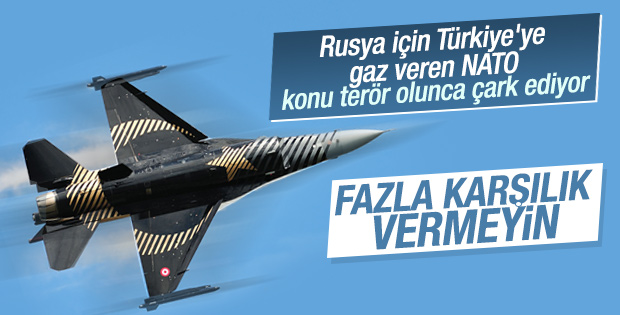 NATO: Türkiye saldırılara orantılı karşılık vermeli