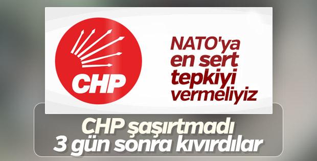 CHP NATO'nun tatbikat skandalına tiyatro iması yaptı