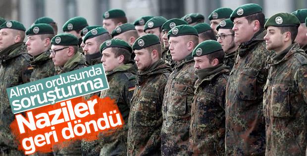 Alman ordusunda Nazi soruşturması