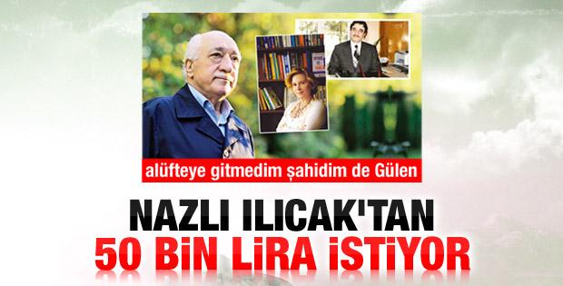 Kemalettin Özdemir'den Nazlı Ilıcak'a alüfte davası